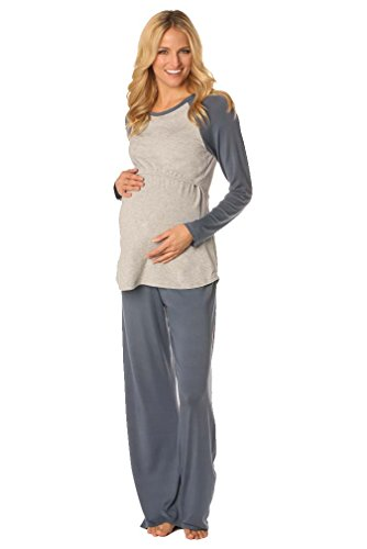 Majamas Pastime Maternity Nursing Lounge Pajama Set | Pajamas Shop