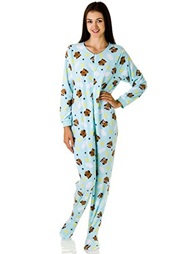 Rene Rofe Juniors Plush Onesie Footie Pajamas | Pajamas Shop
