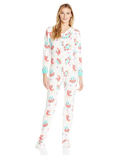 PJ Couture Women's All In One Plush Fun Footie Onesie | Pajamas Shop
