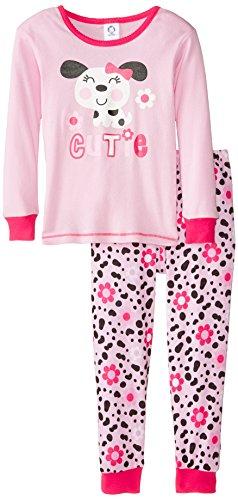Gerber Baby and Little Girls' 2 Piece Cotton Pajama | Pajamas Shop