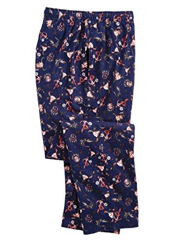 Kingsize Men s Big & Tall Flannel Novelty Pajama Pants