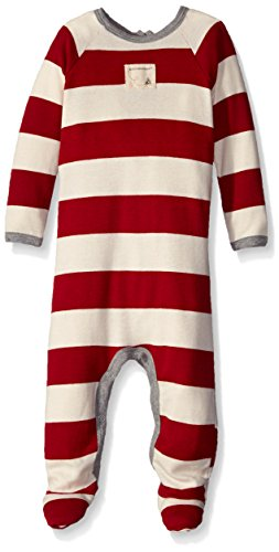 de726b837 Burt's Bees Baby Unisex-Baby Organic Rugby Stripe Union Suit ...