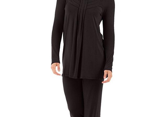 4767bbe9d8 Women's Long Sleeve Pajama Set - Stylish Cozy Pajamas for Women - Ladies PJs